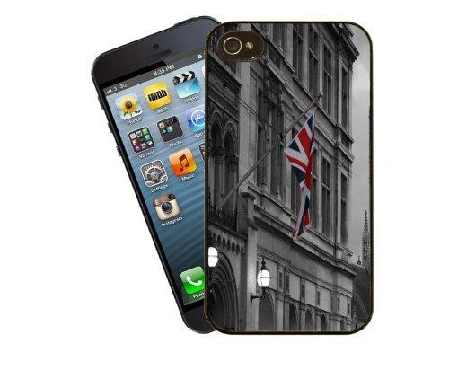 Eclipse Gift Ideas London Building & Union Jack–iPhone 5/5S Custodia Cover