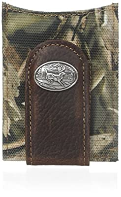 Ariat Men's Deer Concho Bonz Money Clip, One Size