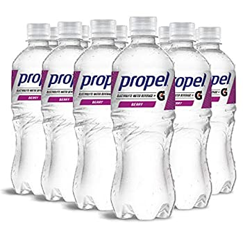Propel Berry Zero Calorie Sports Drinking Water with Electrolytes and Vitamins C&E 16.9 Fl Oz  12 Count