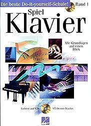Spiel klavier 1 piano +cd
