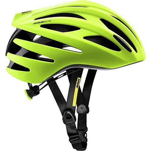MAVIC Aksium Elite Rennrad Fahrrad Helm gelb 2018: Größe: L (57-61cm)