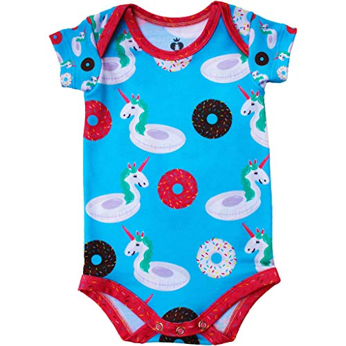 Body Bebê Estampado Boias - Isabb (PP - 0 A 2 MESES)
