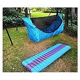 LSXLSD Camping Colgando Hamaca Al Aire Libre Camping A Prueba De Agua Mosquiteras Tiendas De Campaña De Sombra del Jardín De Jardín Sofá De Ocio Una Hamaca Que Puede Estar Plana