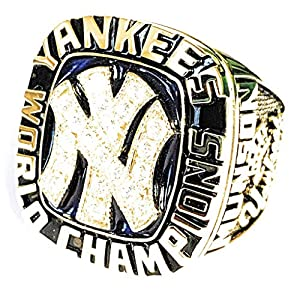 Finding Nostalgia 1977 New York Yankees Replica World Series Ring