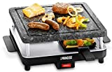 Princess Party 4 Stone - Set raclette con Accesorios, Color Gris y Blanco