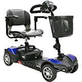 Drive Medical Spitfire Scout 4 Wheel - Deluxe with 20 AH Batteries (SFSCOUTDLX4-EXT)