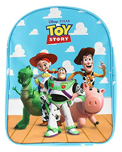 Mochila Azul Disney Story Toy Story para niños con Licencia