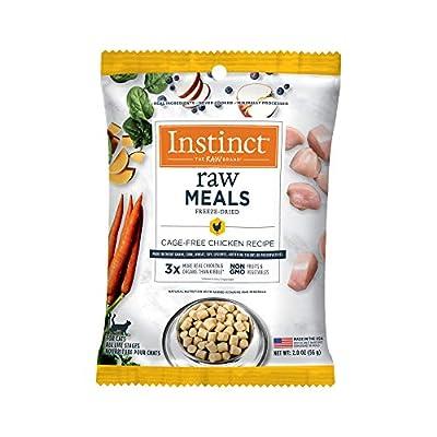 Instinct Freeze-Dried Raw Meals Grain-Free Cage-Free Chicken Recipe Wet Cat Food, 2 oz.