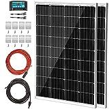 VEVOR Pannello Solare Monocristallino da 300W 2PZ, Kit Fotovoltaico in...