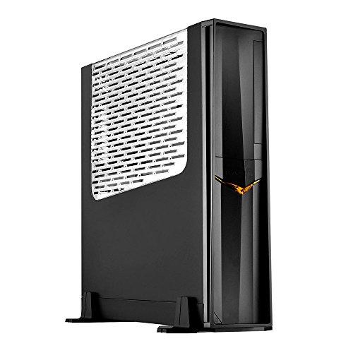 SilverStone ゲーミングブランドRAVENシリーズ スリムPCケース 縦置き横置き対応 アクリルウィンドウパネル...