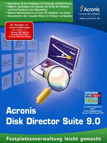 Acronis Disk Director Suite 9