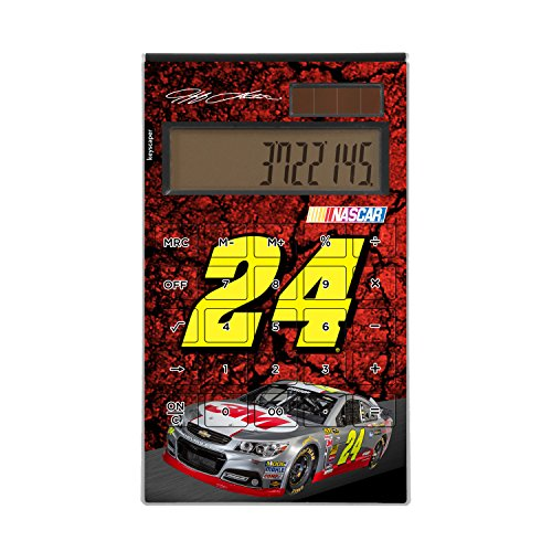 Keyscaper Jeff Gordon Desktop Calculator NASCAR