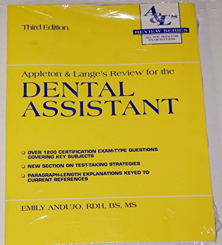 Appleton & Lange's Review for the Dental Assistant (Review Series)