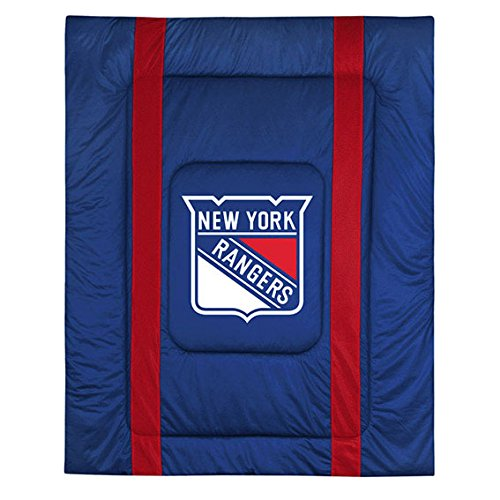 NHL New York Rangers Sideline Comforter Queen