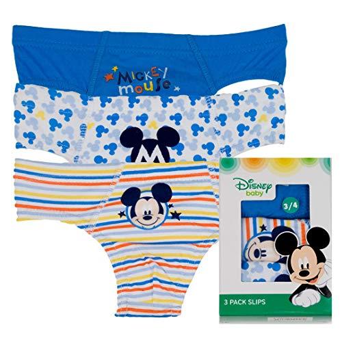 Disney - Slip NIÑO Mickey Pack/3 niños Color: STDO