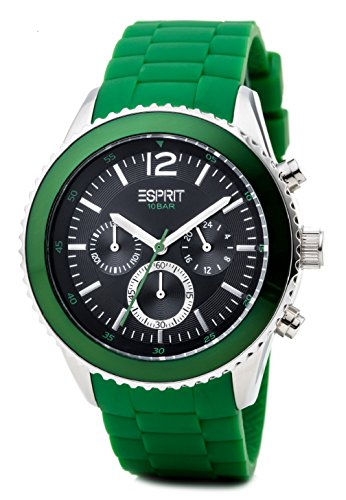 Esprit Herren-Armbanduhr XL marin Men Chronograph Quarz Resin ES105331007