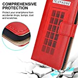 PIXFAB For Blackview A80 Leather Phone Case, Magnetic Closure Full Protection Book Folio Design, Wallet Case Cover [Card Slots] and [Kickstand] For Blackview A80 (6.21