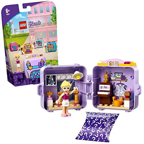 LEGO 41670 Friends Stephanies Ballett-Würfel, Kinderspielzeug, Spielzeug ab 6 Jahre mit Mini Puppe, Geschenk für Mädchen und Jungen