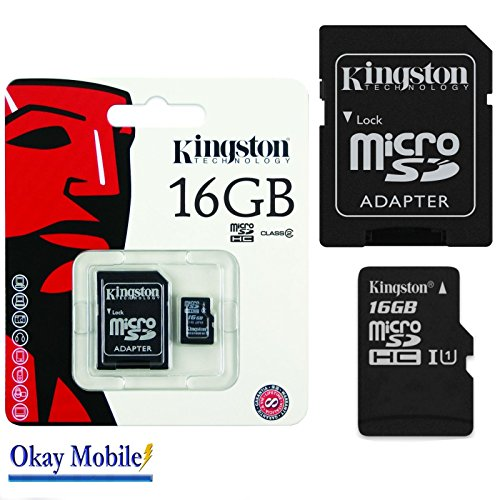 Original Kingston MicroSD Speicherkarte 16GB Für ZTE Blade V7 Lite - 16GB
