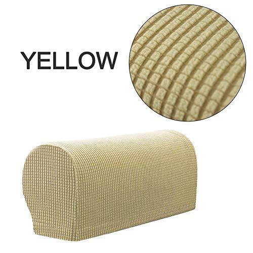 seawood 2 Stück Möbel-Armlehnenbezug Sofa-Armlehnen-Bezug Couch Stuhl Armlehnenschutz abnehmbar dehnbar leicht zu reinigen