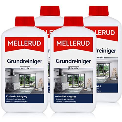 4x Mellerud Grundreiniger Intensiv 1L - gegen Schmutz und alte Pflegefilme