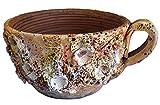 Rustiluz Macetero cerámica con Forma de Taza y decoración Marina