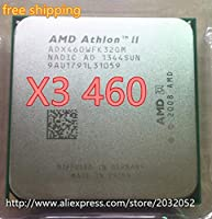 Athlon X3 460 processor 3.4GHz/1.5MB L2 Cache/Socket AM3 CPU Processor scattered pieces (working 100%)