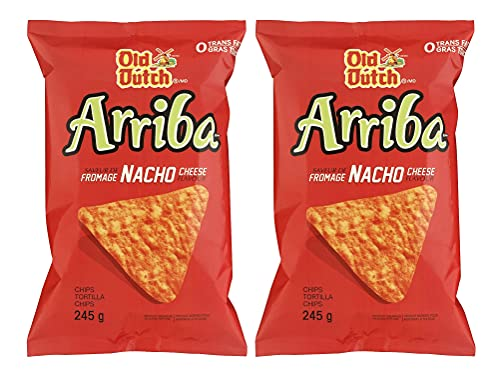 Old Dutch Arriba Nacho Cheese 245g/8.6oz, 2-Pack {Imported from Canada}