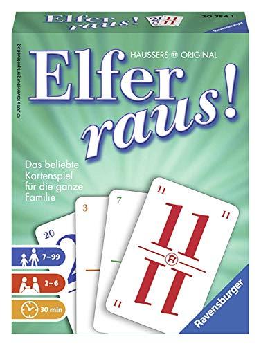 Ravensburger Kartenspiele 20754 - Elfer raus!