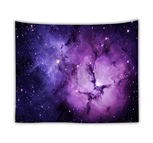 WERT Tapiz de Galaxia romántico Colgante de Pared Mandala Cielo Estrellado Tapiz psicodélico Dormitorio decoración Tapiz Tela de Fondo A11 100x150cm