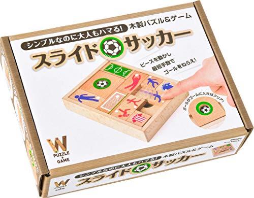 木製パズル&ゲーム スライドサッカー ([バラエティ])