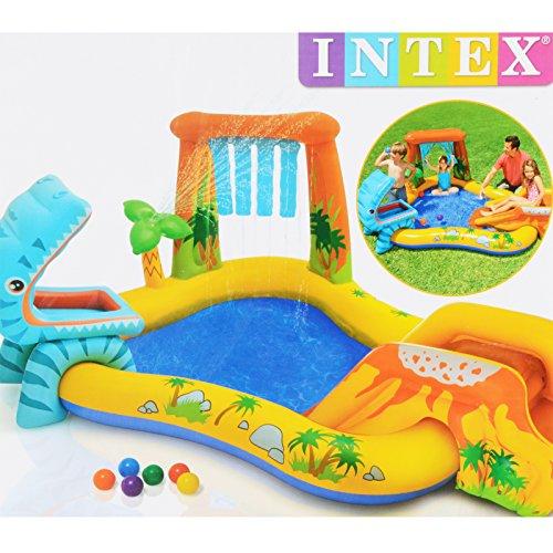 Intex Spelparadijs Kinderbadje, Play Center zwembad, voor in de tuin