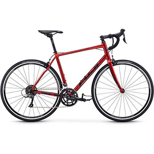 Fuji Sportif 2.3 Road Bike 2020 - Bicicleta de Carretera (54 cm, 700 c), Color Rojo metálico