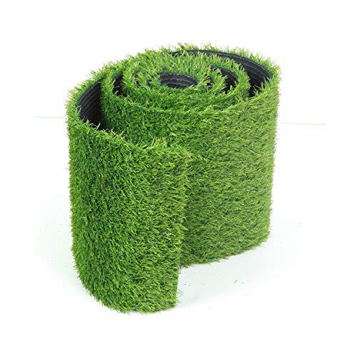 SUMC Gras Tischläufer Tischband Rasen Kunstrasen Grass Läufer Teppich für die Dekoration(L 1.5m*W 0.4m)