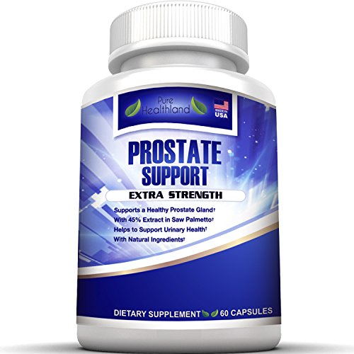 Stop Frequent Urination! The Most Complete Super Prostate Health Support Supplement Pills Formula for Men with 33 Natural Ingredients Including 45% Saw Palmetto Extract. Best for Men's Urinary Health