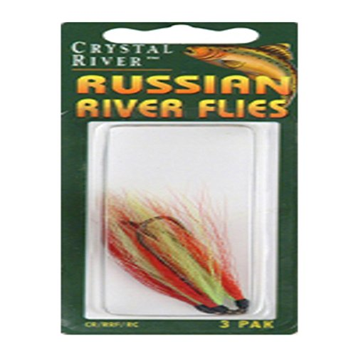 South Bend CR/RRF/RC Russian River Fly Red/Cht 3Pk