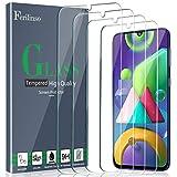 Ferilinso [4 Piezas Protector de Pantalla para Samsung Galaxy A50, M21, M31, M30S,A30S, Cristal Templado Vidrio Templado, [Compatible con la Funda][2.8d Borde Redondo] [Alta Definición][Anti-Huella]