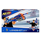 NERF N-Strike Elite Longshot CS-6 Blue - Range up to 30 meters