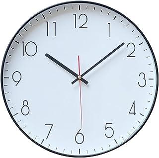 أطفال تعمل بطارية على مدار الساعة تخبر وقت التدريس ساعة صامتة غير توضيح التناظرية التعلم ساعة سهلة قراءة شنقا الساعات غرفة...