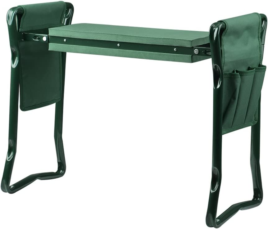 wuudi Folding Garden Kneeler Seat Bench Two an price with Max 58% OFF Tool Pouches