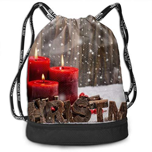 Vela Roja Navidad  marca Laonlwo