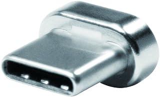 LogiLink CU0119ADAP magnetisk USB-C ersättningsplugg för CU0119 silver