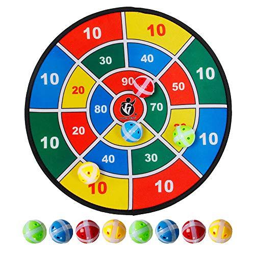 Kindersicherheit Dart Ziel, Kunststoff klebrige Ziel Spielzeug Stoff weich Frisbee Eltern-Kind-Interaktion, Jungen und Mädchen beste Kinder Geburtstagsgeschenke, kann die ganze Familie das große