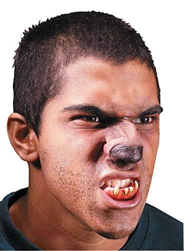 Horror-Shop 3-pc. Set maquillaje nariz hombre lobo