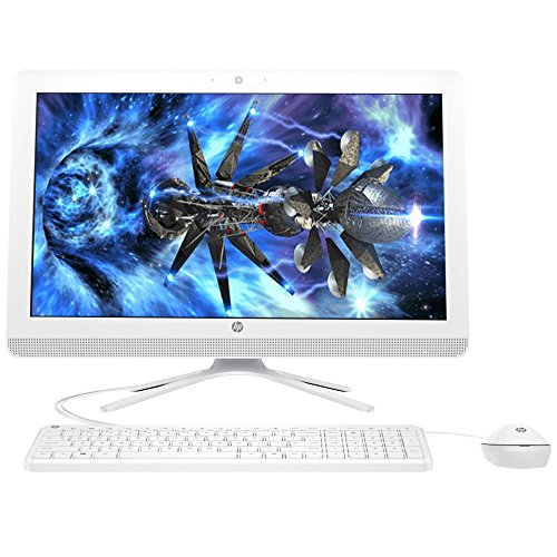 "2018 Flagship HP Pavilion 21.5"" Full HD IPS All-in-One Desktop Computer, Intel Pentium J3710 1.6 GHz , 4GB RAM, 1TB 7200RPM HDD, HDMI, Bluetooth 4.0, USB 3.0, Windows 10 (Renewed)"