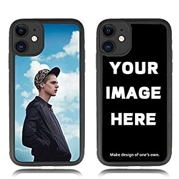 Custom iPhone 11 6.1  Case TPU Shock Absorbing Personalized Photo Phone case for iPhone11 - Design Your Own iPhone Case  iPhone 11 Black