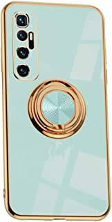 Hicaseer Case for Mi 10 Ultra,Ultra-Thin Ring Shockproof Flexible TPU Phone Case with Magnetic Car Mount Resist Durable Ca...