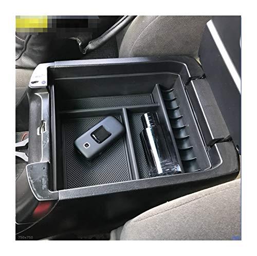 ZHANGWW ZWF Store Ajuste para EL Caja DE Almacenamiento ARMANTE Ajuste para Toyota Land Cruiser Prado J120 Sin Fridge Center Console Container Bin Tray Case 2004-2009