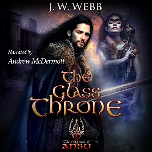 The Glass Throne audiobook cover art