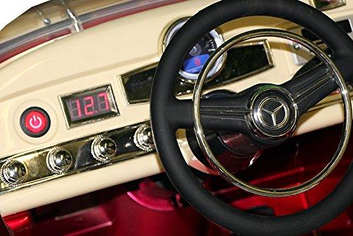 Oldtimer E-Auto für Kinder Mercedes Benz 300s Bild 2*